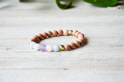 Balanced Harmony Crystal Stretch Bracelet