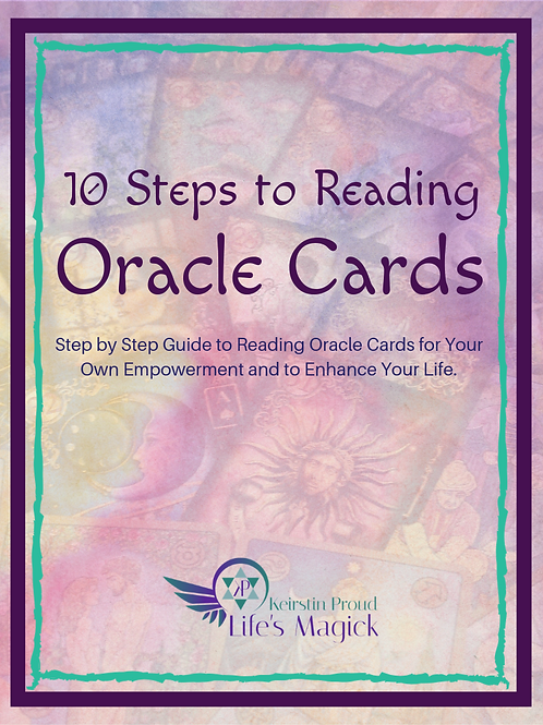 10 Steps to Reading Oracle Cards