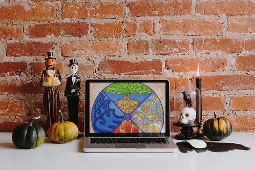 Four Corners Halloween Zine - Digital Edition