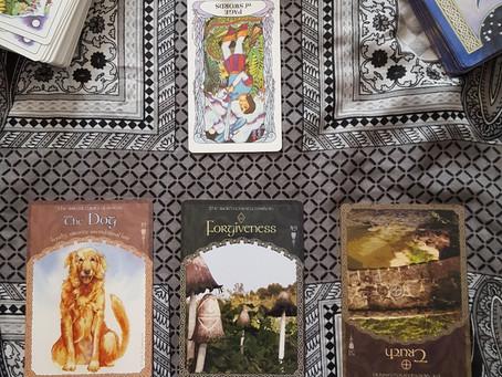 Truth & Forgiveness - New Moon Reading