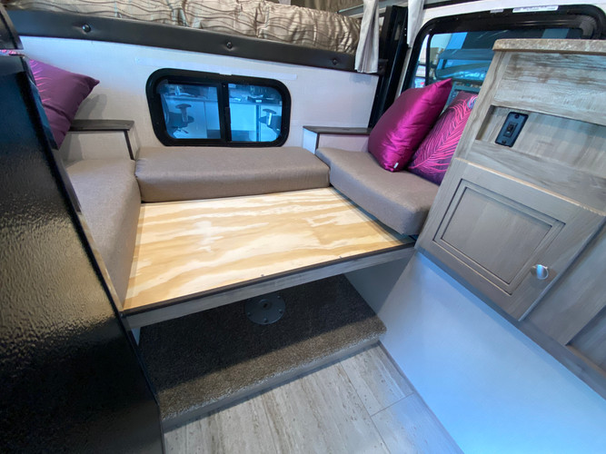 Use the structural supports provided to create a second bed!