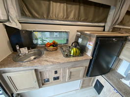 Unlock your inner chef with a two burner stove kitchen with a sink