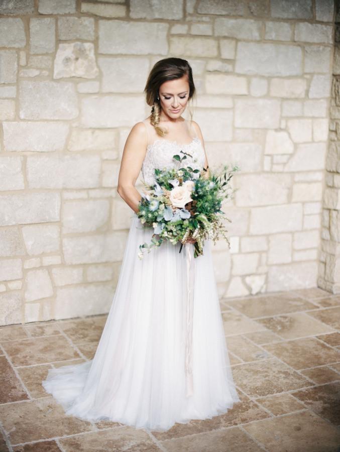 Rustic St. Louis Wedding Dress