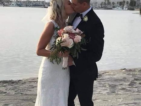 Real Mia Grace Bride: Wedding of Natalie and John