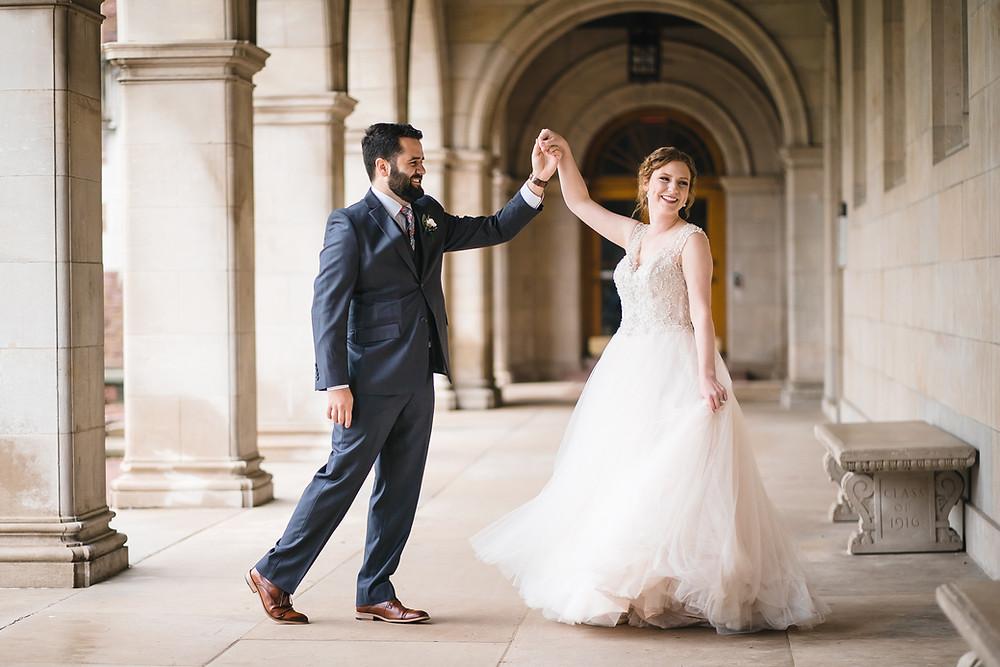 fall Wedding martin thornburg princess wedding dress