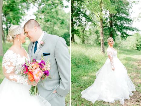 Real Mia Grace Bride: Wedding of Hannah and Caleb