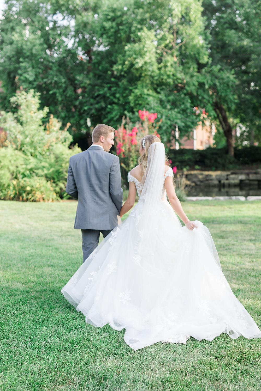 St Louis Wedding Morilee Wedding Dress