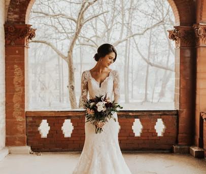 Real Mia Grace Bride: Wedding of Celene and Matthew