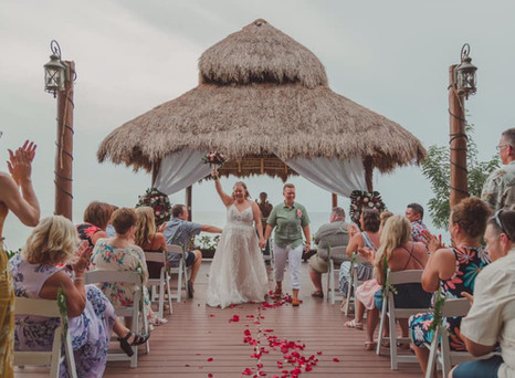 Real Mia Grace Bride: Wedding of Kelsay and Taylor