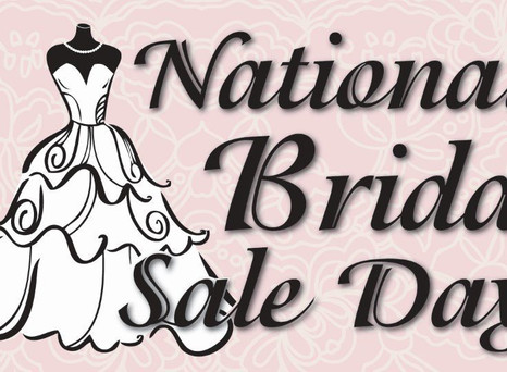 National Bridal Sale Day Comes to Mia Grace Bridal on July 16th