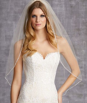 edward beger bridal veils
