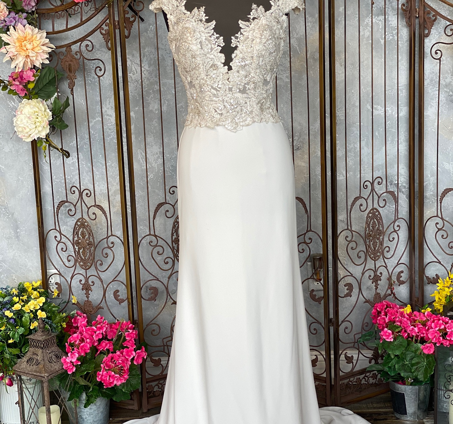 Eddy K Ottavia Dress Front