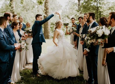 Real Mia Grace Bride: Wedding of Tori and Kurt