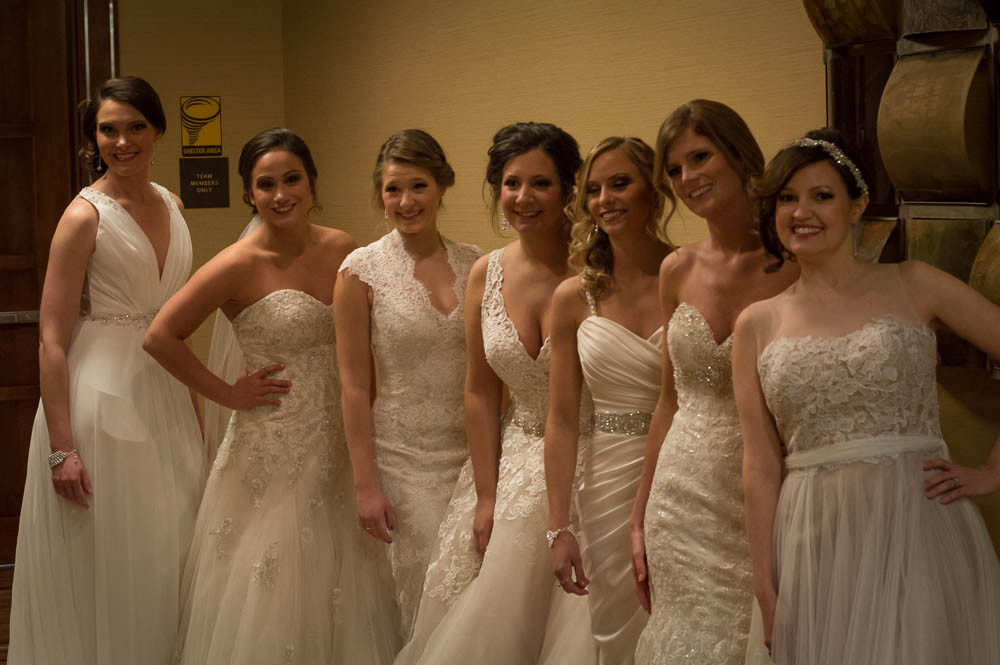 Mia Grace Bridal at the St. Louis Perfect Wedding Guide Fashion Show