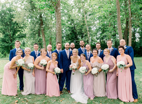 Real Mia Grace Bride: Wedding of Heather and Stephen