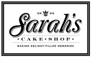 Sarah's Cake Shop St. Louis