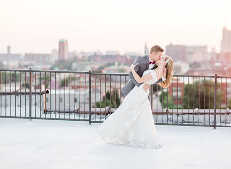 Real Mia Grace Bride: Wedding of Abigail and Eric