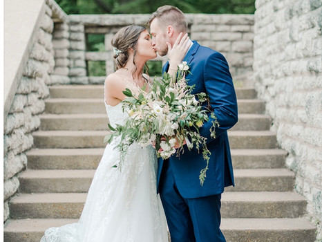 Real Mia Grace Bride: Wedding of Haley  and Justin