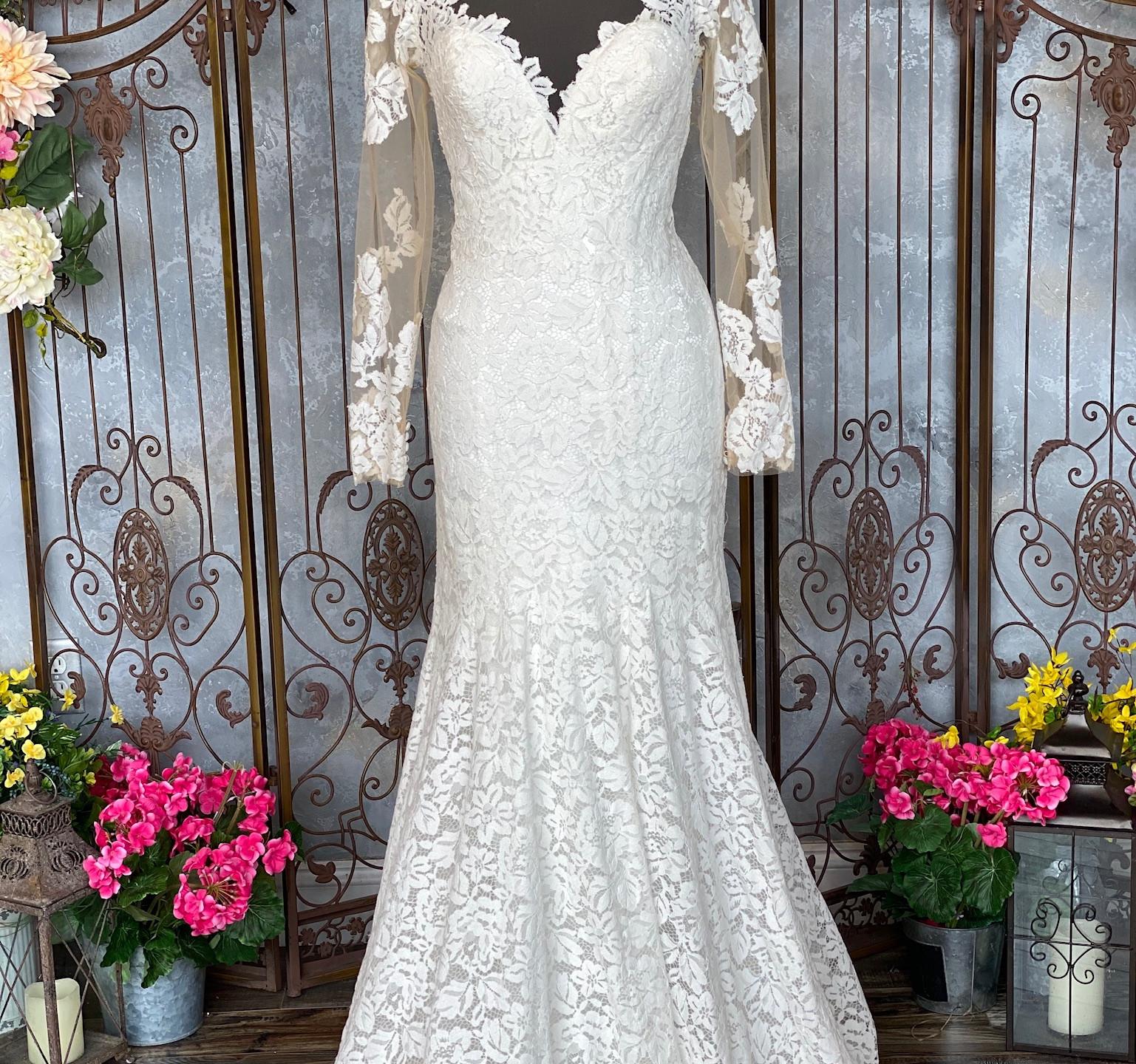 Allure 9377 Dress Front