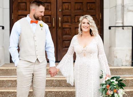Real Mia Grace Bride: Wedding of Sydney and David