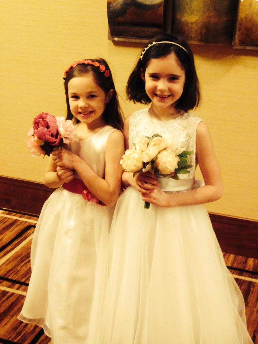 US Angels and Joan Calabrese Flower Girl Dresses St. Louis