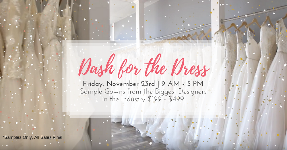 Dash for the dress