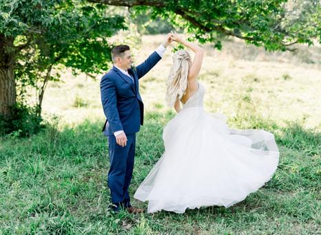 Real Mia Grace Bride: Wedding of Kayla and Scott
