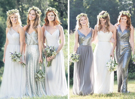 Sequin Bridesmaids Dresses to Add Some Extra Sparkle to Your Wedding