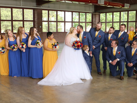 Real Mia Grace Bride: Wedding of Meagan and Luke