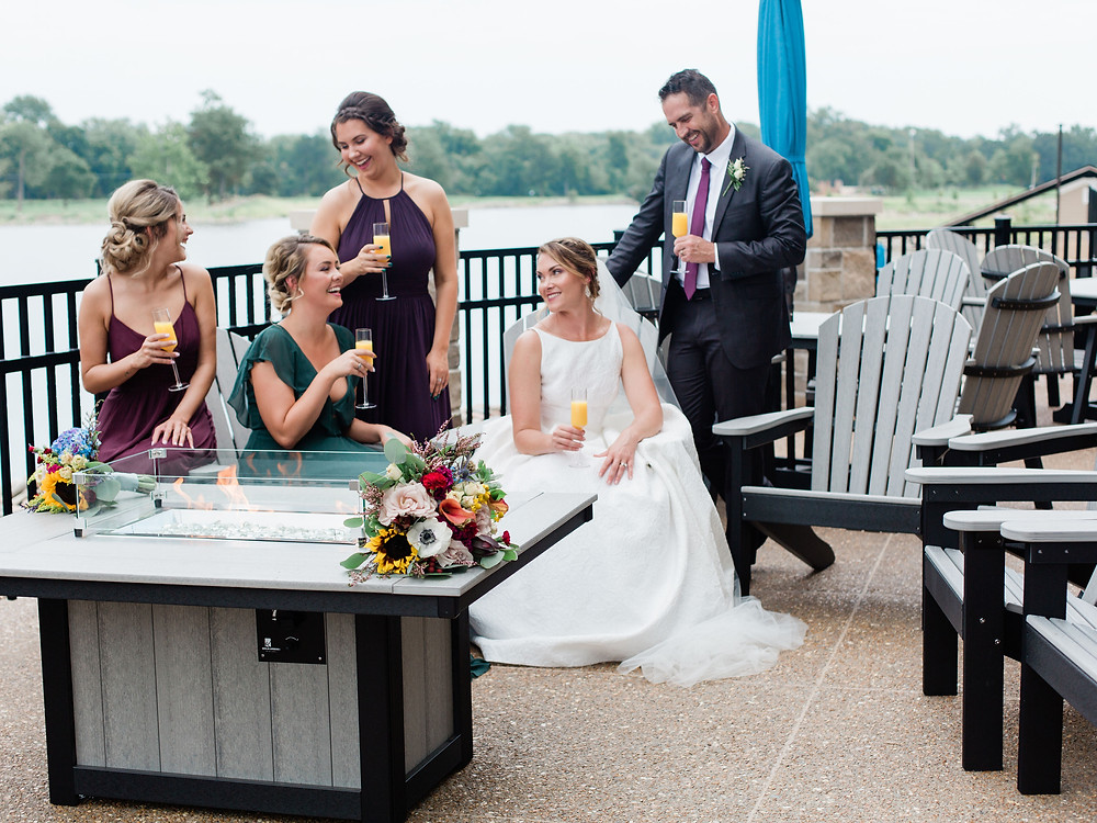 Wedding at Water's Edge in St. Charles, MO