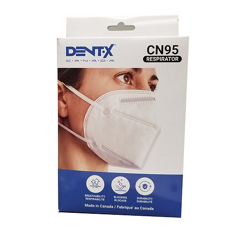 10 pack Disposable CN95 Masks -Canadian Made!