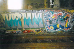 """PAPA  """"Was Here""""  1996"""