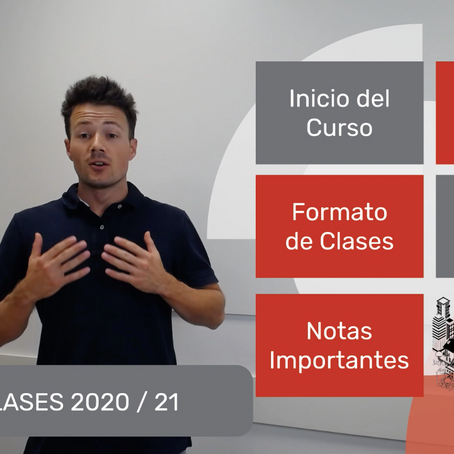 Así será el formato de clases para el curso 2020-21