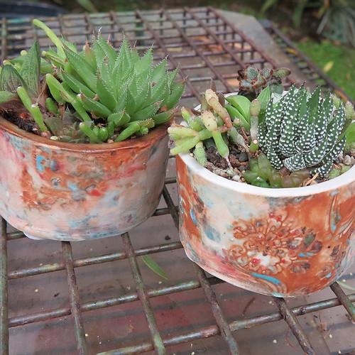 Oxide Painted Pot