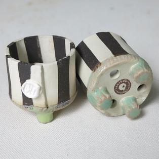 Stripey Pots