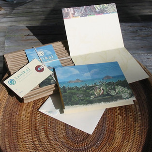 Lanikai Pot and Plant Notecards