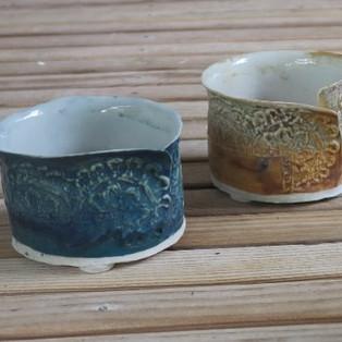 Salt Fired Oxide Pot