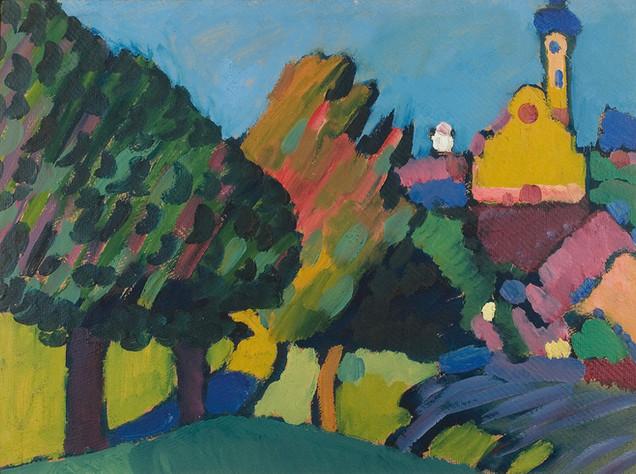 Wassily Kandinsky: Eglise à Murnau