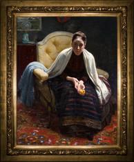 Elin Danielson-Gambogi: Hilma Westerholmin muotokuva / Porträtt av Hilma Westerholm