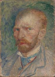 Vincent van Gogh: Omakuva / Självporträtt / Self portrait, 1887