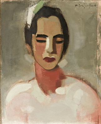 Helene Schjerfbeck: Kalifornialainen / Kaliforniskan / The Californian Lady