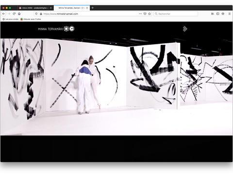 Video: Trace / Jälki / Trace. Performance by Minna Tervamäki and Hannaleena Heiska