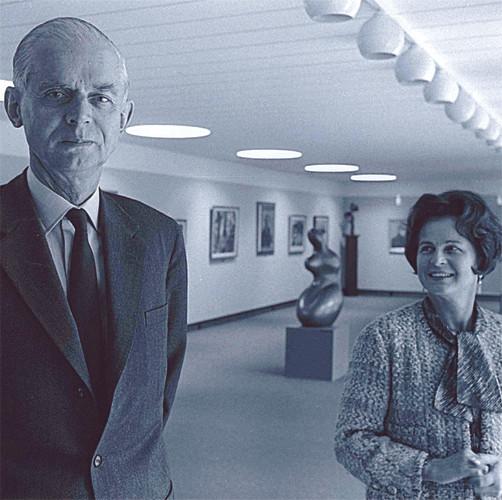 Marie-Louise & Gunnar Didrichsen, 1968. Kuva / foto / photo: Caj Bremer