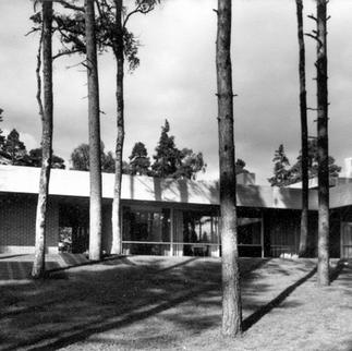 Villa Didrichsen, 1965. Kuva / foto / photo: Didrichsenin arkisto / Didrichsens arkiv, Didrichsen archive