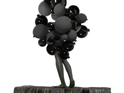 """""""Merveilleuse Marie Madeleine dans les nuages"""" - Monumental ceramic sculpture - Sculpture monumentale, Commande publique 1% Vitry sur Seine"""