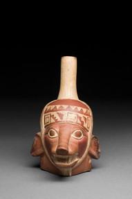 Ketun muotokuva-astia / Kärl med porträtt av räv / Fox portrait vessel