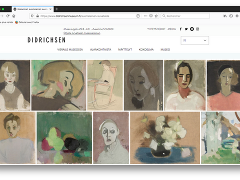 Collections, Helene Schjerfbeck