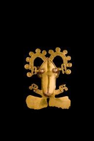 Sammakkoriipus / Hängsmycke i form av en groda / Frog pendant