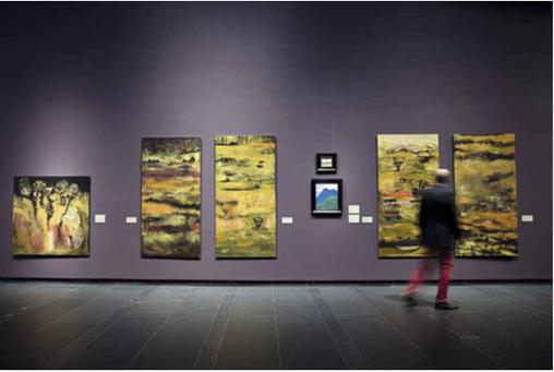 Golden Age exhibition, Serlachius Museums, 2016-2017