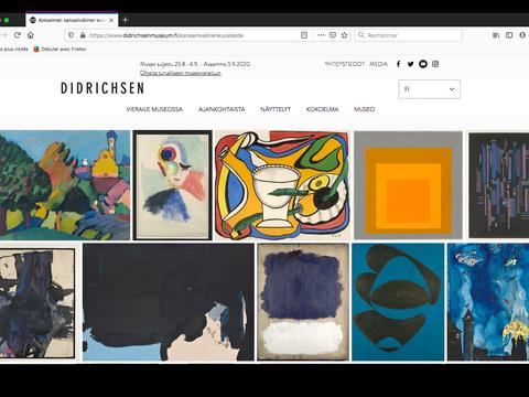 Collection d'art moderne comprenant Kandinsky, Sonia Delauney, Léger, Albers, Rothko